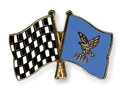 Crossed Flag Pins Flag-checkered-black-and-white-Friuli-Venezia-Giulia