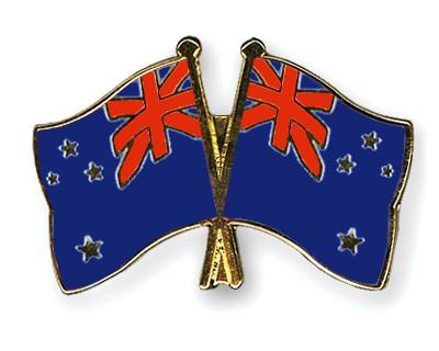 Crossed Flag Pins New-Zealand-New-Zealand