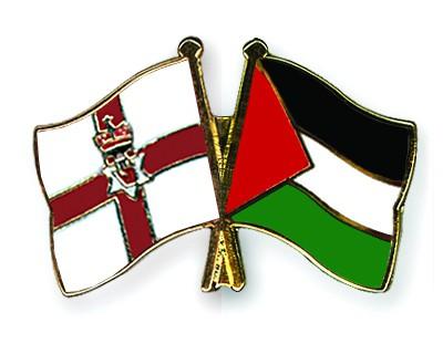 Crossed Flag Pins Northern-Ireland-Palestine