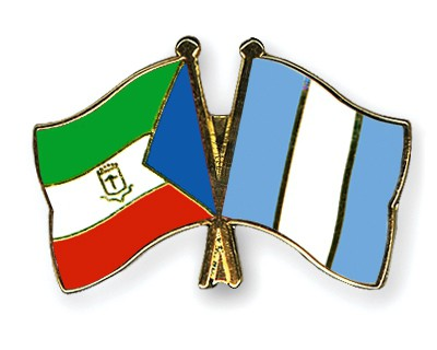 Crossed Flag Pins Equatorial-Guinea-Guatemala