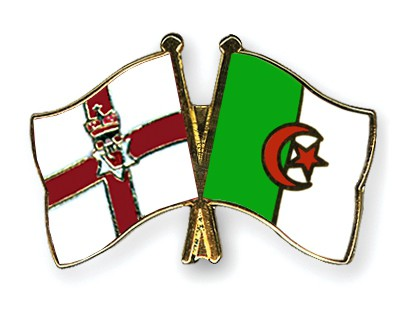 Crossed Flag Pins Northern-Ireland-Algeria