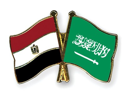 Special Offer Crossed Flag Pins Egypt-Saudi-Arabia