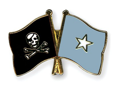 Crossed Flag Pins Pirate-with-Bone-Somalia