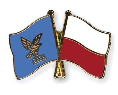 Crossed Flag Pins Friuli-Venezia-Giulia-Poland