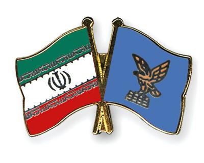 Crossed Flag Pins Iran-Friuli-Venezia-Giulia